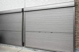 電動シャッター新設工事2