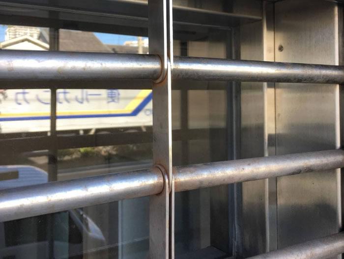 茨木市で電動パイプシャッター修理工事後