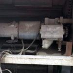摂津市で電動シャッター開閉機モーター交換工事前
