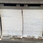 太子町でシャッター修理|手動シャッター取替工事前