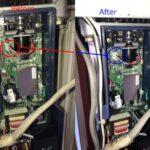生野区で電動シャッター開閉機の修理